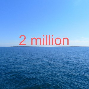 picture of the number two million