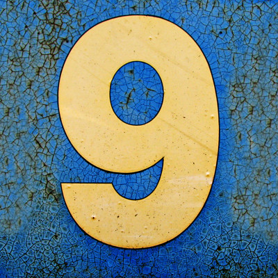 picture of the number nine